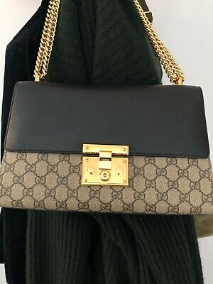 AU1699 • Buy Gucci Padlock Medium GG Shoulder Bag