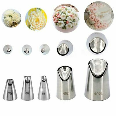 1pc Russian Nozzle Juju Tulip Stainless Steel Icing Piping Tips DIY Pastry Decor • 2.86£