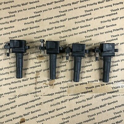 $75.99 • Buy Set Of 4 OEM Ignition Coil Pack For 2002-2003 Subaru Impreza WRX 2.0L H4 (USED)