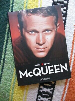 £43.64 • Buy Steve McQueen Taschen Movie Icons By Alain Silver 2007 Paperback Soft Cover Book