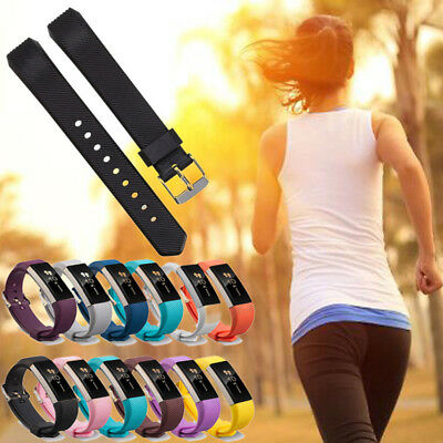 AU3.36 • Buy Fashion Silicone Wristband Band Replacement Strap Sport For Fitbit Alta &Alta HR