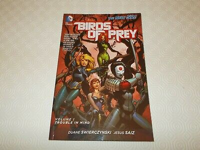 DC Comic Graphic New 52 Birds Of Prey Vol 1 Trouble In Mind • 3.50£
