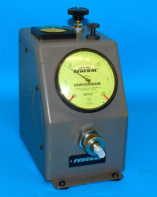 $395 • Buy SPECIAL MAHR FEDERAL DIFFERENTIAL DIMENSIONAIR D2500 USE With 4 JET TAPER PROBES