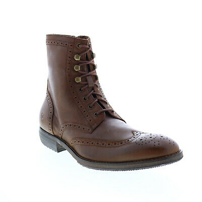 $40.99 • Buy Andrew Marc Hillcrest AM1003-2023 Mens Brown Leather Casual Dress Boots