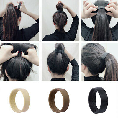 $ CDN4.37 • Buy 1PC Hair Accessories Ponytail Holder Women's Foldable Elastic Hair Bands