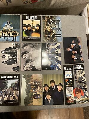 The BEATLES MEMORABILIA/ Postcards/ Bookmarks (APPLE CORPS LTD 2009) Mixed Lot • 4.99£