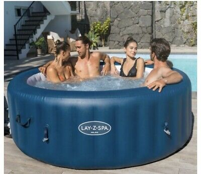 Lazy Spa Milan 4-6 Person Wi-fi Controlled Inflatable Hot Tub • 550£