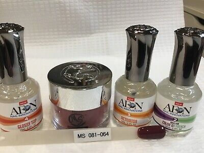 AU69 • Buy SNS MS MYSTIC SYSTEMS 081-064 Nail Dipping Powder Kit Signature Nails System AUS