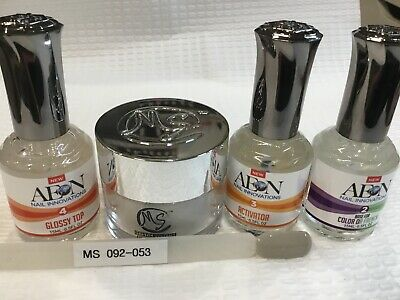 AU69 • Buy SNS MS MYSTIC SYSTEMS 092-053 Nail Dipping Powder Kit Signature Nails System AUS