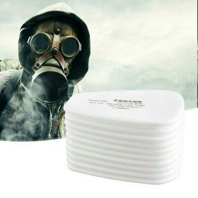 AU36.83 • Buy 100PCS 5N11Cotton Filter Safety Protect Replacement F 6200 6800 7502 Respirators