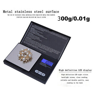 AU16.87 • Buy 300g/0.01g High Precision Digital Electronic Scale For Jewelry Reloading ARTOR