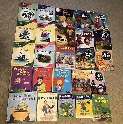 Oxford Reading Tree Phonics Books.read/write, Read At Home & Project Alien Books • 15£