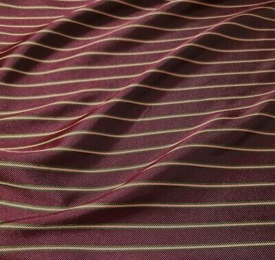 £3.29 • Buy Fabric Striped Twill Dress Lining - Sold By The Metre