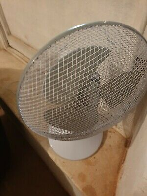 12-inch Oscillating Desk Fan • 5£