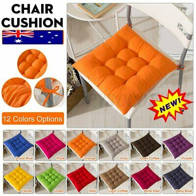 AU14.35 • Buy Chair Cushion Pad 2.36  Thick Corduroy Seat Square Patio Car Office Home Mat &&