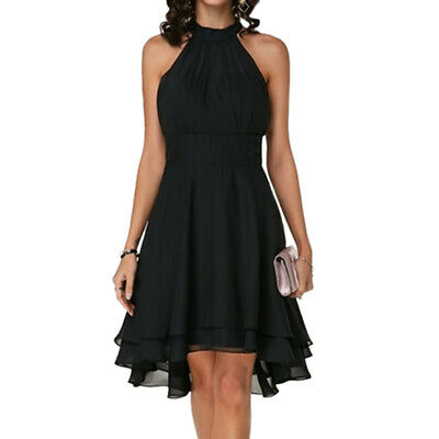 AU24.89 • Buy Plus Size Ladies Travel Sleeveless Dress Evening Party Cocktail Prom Mini Dress