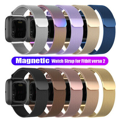 $ CDN6.70 • Buy Replacement Band For Fitbit Versa 1/Versa 2/Lite Watch Stainless Wristband Strap
