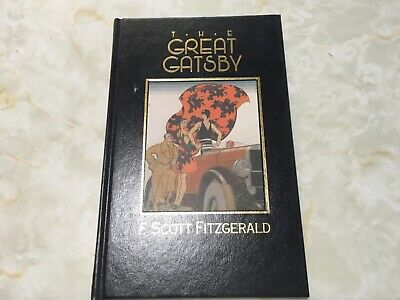 The Great Gatsby By F.scott Fitzgerald Hardback Published In 1988 • 5£