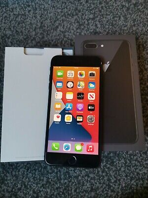 IPhone 8 Plus Grey 64GB Unlocked Boxed In Excellent Condition  • 265£