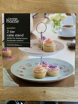 2 Tier Cake Stand - George Home • 10£