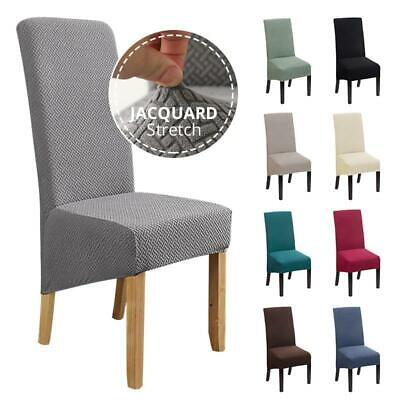 AU9.79 • Buy Fabric Chair Cover For Dining Room Chairs Covers High Back Chair Cover Fo Sofa
