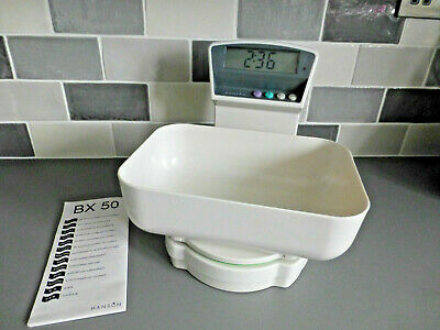 Vintage Hanson Electronic Digital Kitchen Scales-5kg/Thermometer / Clock Unused  • 24.99£