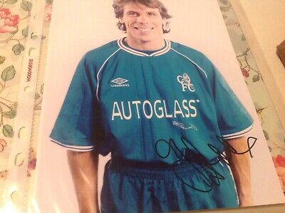 Gianfranco Zola Signed Picture • 7£