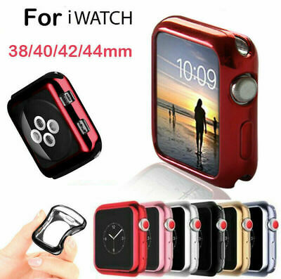 $ CDN3.89 • Buy TUP Case Cover Bumper For Apple Watch IWatch Series 4 3 2 1 Silicone Protector