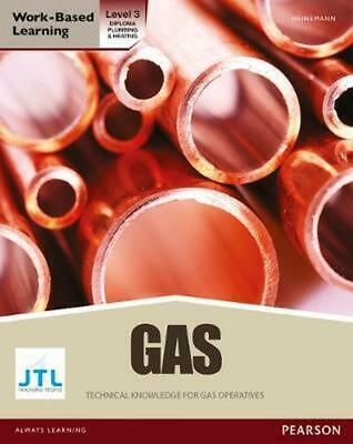 NVQ Level 3 Diploma Gas Pathway Candidate Handbook By JTL Training Paperback Boo • 47.12£