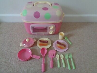 ELC Portable Kitchen / Cooker Lights And Sounds With Some Accessories  • 10£