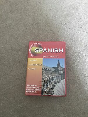 Learn Spanish -  Language Course 4 CDs & Book - Caxton - Foreign Languages  • 0.99£