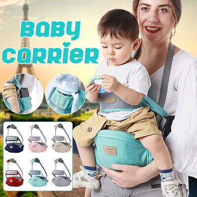 Baby Carrier Hip Seat Waist Stool Walkers Toddler Belt Infant Baby Hipseat • 16.47£