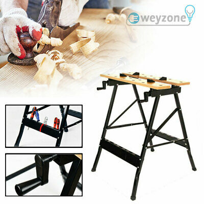 £22.89 • Buy Work Bench Table DIY Portable Folding Workbench Workmate With Clamping Vice UK