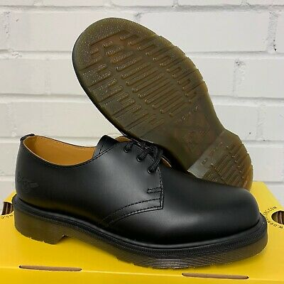 £55 • Buy DR MARTENS AIR WAIR BLACK WARD LEATHER SHOES - Size: 3.5 Uk , British Army NEW