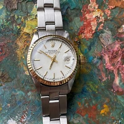 $ CDN1120.67 • Buy Rolex Date 6917 6916 Two-tone Vintage Ladies Watch 100% Genuine Automatic 2030