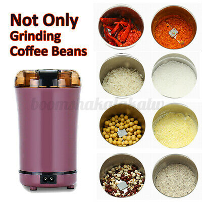 AU24.11 • Buy 800W Electric Coffee Mill Grinder Beans Spices Herb Nuts Grinding Machin