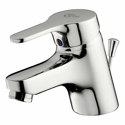 Ideal Standard Alto Modern Basin Mixer Tap With Pop Up Waste B8529 • 54£