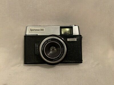 Vintage Ilford Sportsman 300 35mm Camera With Original Carry Case • 26£