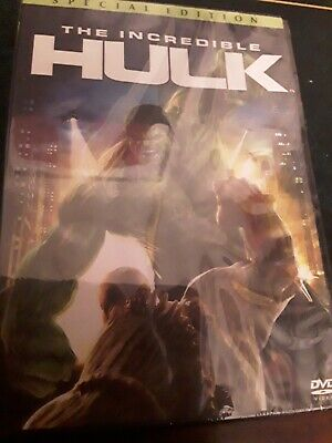 The Incredible Hulk DVD - New And Sealed (Import Edition? ) • 2.20£