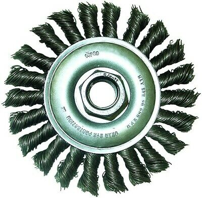 $ CDN26.12 • Buy 13981 4.5InX5/8-11NC Knotted Wire Wheel Brush With 0.02-Gauge Stainless Steel
