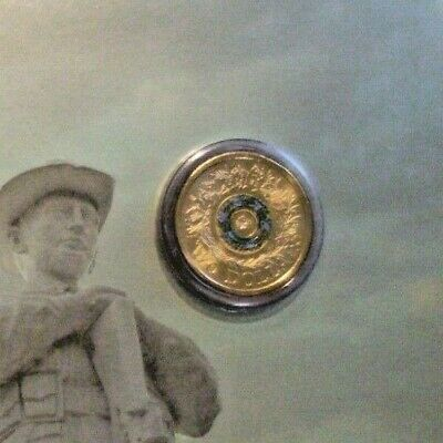 AU9.99 • Buy 2017 Australian $2 Dollar Uncirculated 'C' Mintmark Carded Remembrance Day Coin