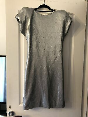£60 • Buy Bnwt Ted Baker Sequin Bow Backless Dress New Size 2 Rrp £169