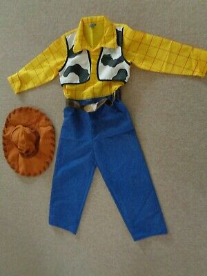 £8.50 • Buy Disney Woody Outfit Age 7 - 8 Years Dressing Up Costume All In One Toy Story