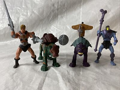 """$29.99 • Buy He Man 200x Lot Motu Masters Of The Universe 4"""" - 6"""" Figures With Accessories"""