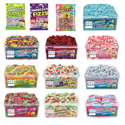 Full Tub Sweetzone Sweets Halal Retro Pick N Mix Candy Cart Treat Party Favour • 1.99£