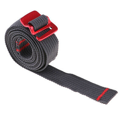 1.5M Outdoor Travel Strapping Cord Tape Rope Tied Pull Luggage With Hook • 3.55£