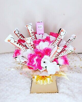 Bounty Chocolate Bouquet - FULL SIZE BARS- Christmas- Birthday - Anniversary... • 37£