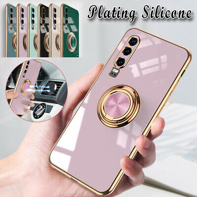 For Huawei P20 P30 P40 Pro + Lite Case Fashion Shockproof 360 Ring Stand Cover • 5.99£