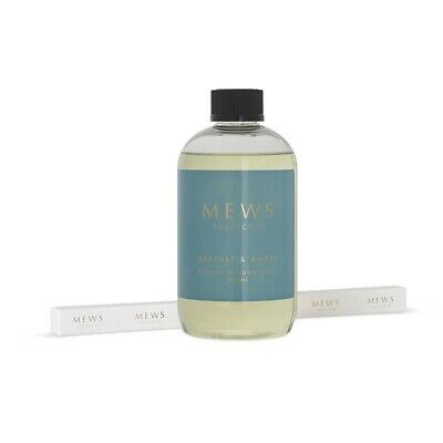 AU31.99 • Buy Mews Reed Diffuser Refill 500ml Sea Salt And Amber