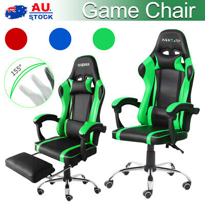 AU113 • Buy Gaming Chair Office Executive Computer Chairs Seating Racing Recliner 2 Types